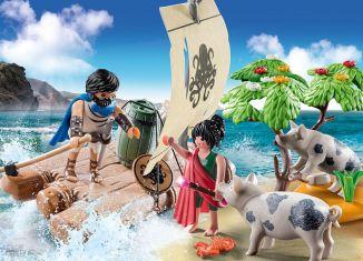 Playmobil - 70468 - Odysseus and Kirke