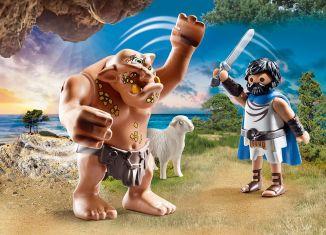 Playmobil - 70470 - Odysseus and Polyphemus