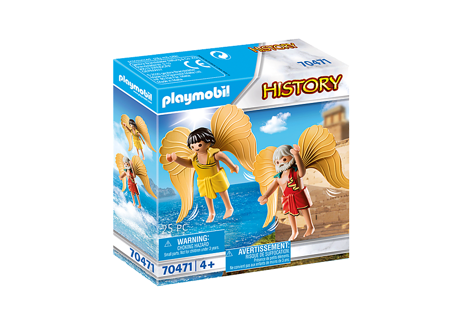 Playmobil 70471 - Daedalus and Icarus - Box