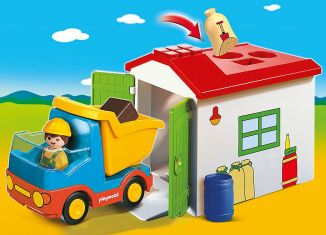 Playmobil - 70184 -  Truck with Sorting Garage