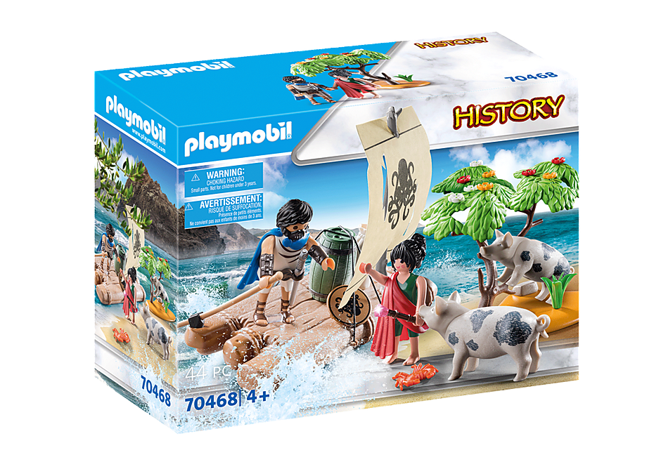 Playmobil 70468 - Odysseus and Kirke - Box