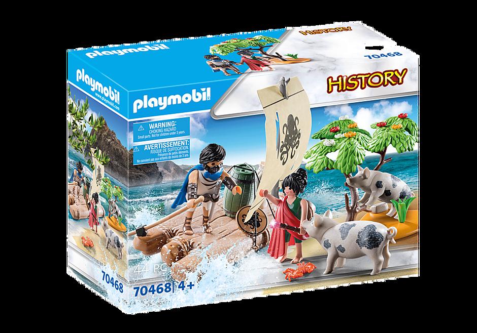 Playmobil 70468 - Circé et Ulysse - Boîte