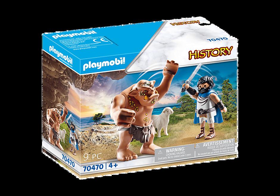 Playmobil 70470 - Odysseus and Polyphemus - Box
