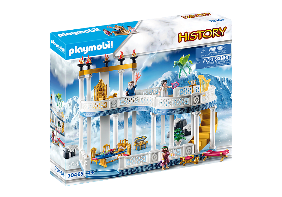 Playmobil 70465 - Palast auf dem Olymp - Box
