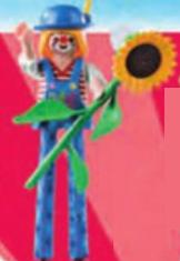 Playmobil - 70370-07 - Clown woman