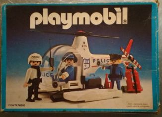 Playmobil - 9748-ant - police helicopter
