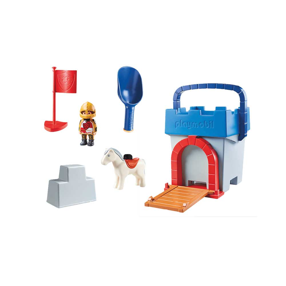 Playmobil 70340 - Knights Castle Sand Bucket - Volver