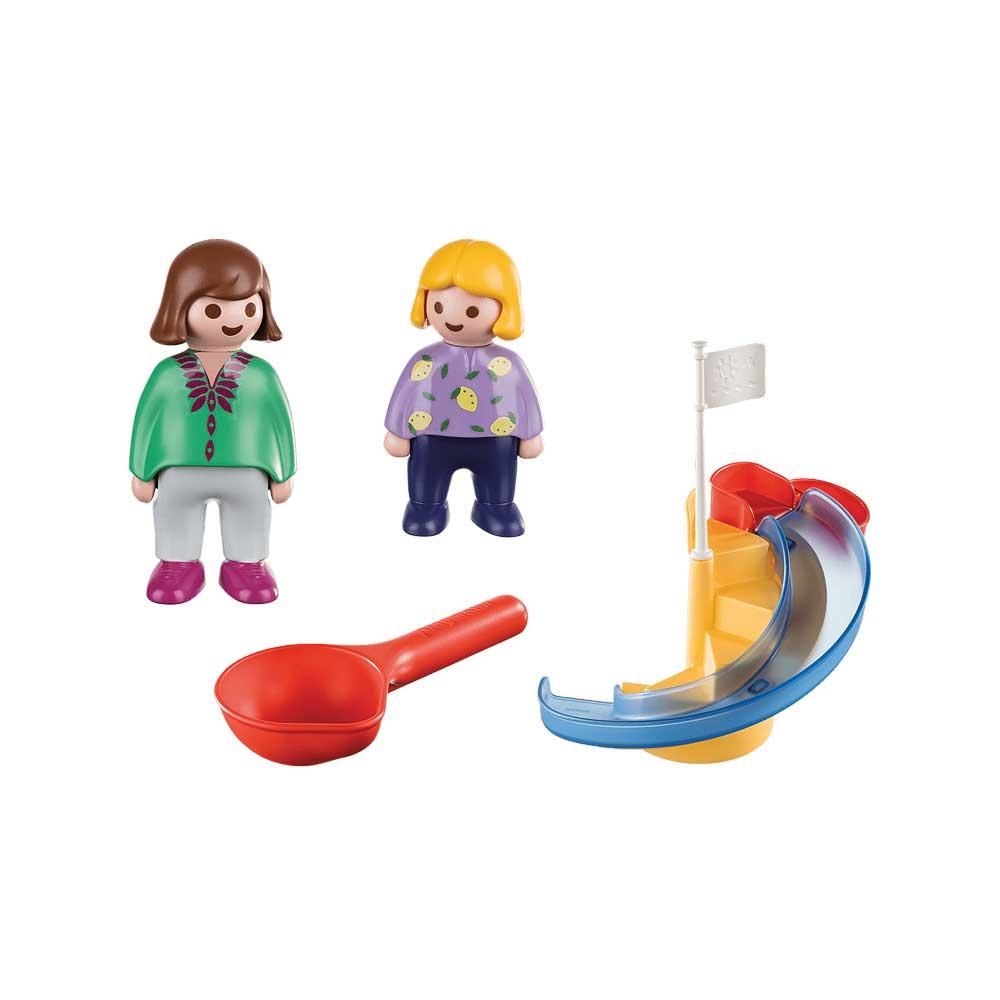 Playmobil 70270 - Water Slide - Back