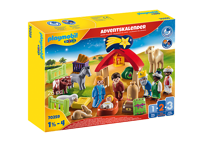 Playmobil 70259 - Christmas crib advent calendar - Box