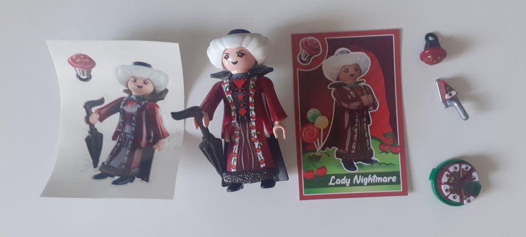 Playmobil 70389V1 - Lady Nightmare - Back