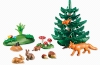 Playmobil - 6418 - Timed forest animals