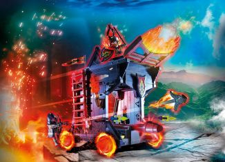 Playmobil - 70393 - Burnham Raiders Fire Ram