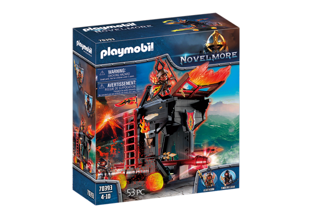 Playmobil 70393 - Burnham Raiders Fire Ram - Box