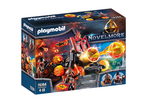 Playmobil 70394 - Burnham Raiders Lava Catapult - Box