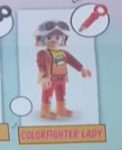 Playmobil - 70478-08 - Colorfighter lady