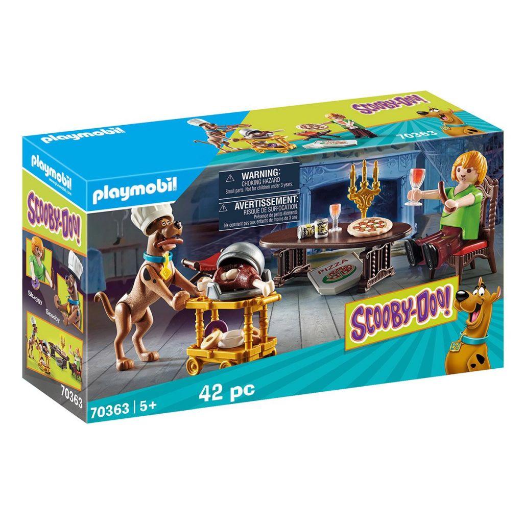 Playmobil 70363 - SCOOBY-DOO ! Feast with Samy - Box