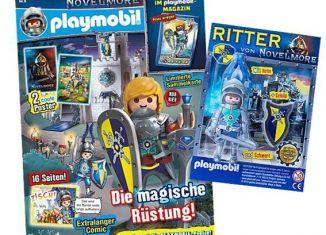 Playmobil - 80638 - Playmobil – Magazin Blau 8/2019 (Heft 74)
