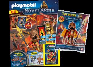 Playmobil - 80657 - PLAYMOBIL Novelmore-Magazin 2/2020 (Heft 2)