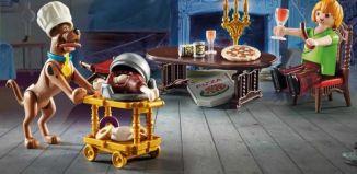 Playmobil - 70363 - SCOOBY-DOO ! Feast with Samy