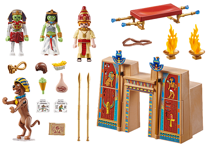 Playmobil 70365 - SCOOBY-DOO! Adventure in Egypt - Back