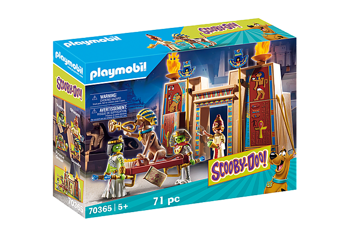 Playmobil 70365 - SCOOBY-DOO! Adventure in Egypt - Box