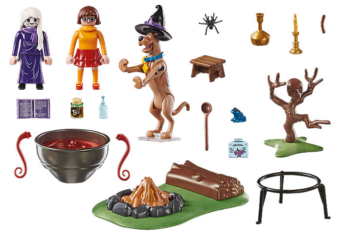 Playmobil 70366 - SCOOBY-DOO! Adventure in the Witch's Cauldron - Back