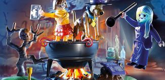 Playmobil - 70366 - SCOOBY-DOO! Adventure in the Witch's Cauldron