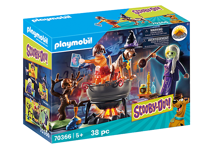 Playmobil 70366 - SCOOBY-DOO! Adventure in the Witch's Cauldron - Box
