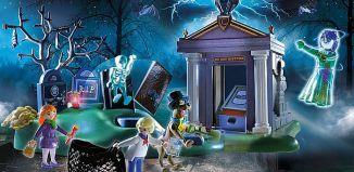 Playmobil - 70362 - SCOOBY-DOO! Adventure in the Cemetery