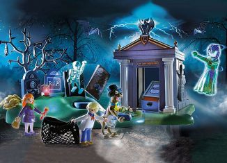 Playmobil - 70362 - SCOOBY-DOO! Adventure in the Cemetery
