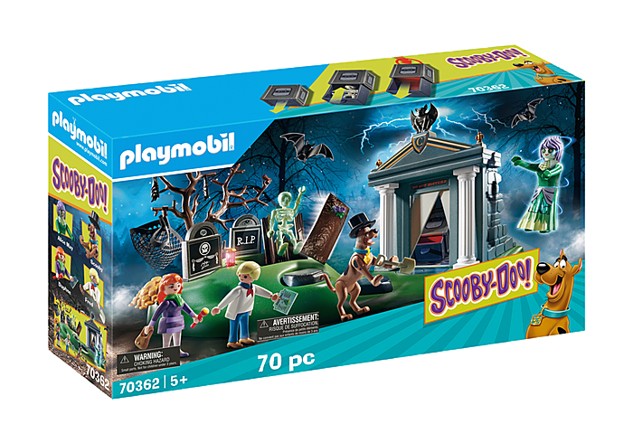 Playmobil 70362 - SCOOBY-DOO! Adventure in the Cemetery - Box