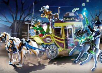 Playmobil - 70364 - SCOOBY-DOO! Adventure in the Wild West