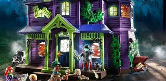 Playmobil - 70361 - SCOOBY-DOO! Adventure in the Mystery Mansion