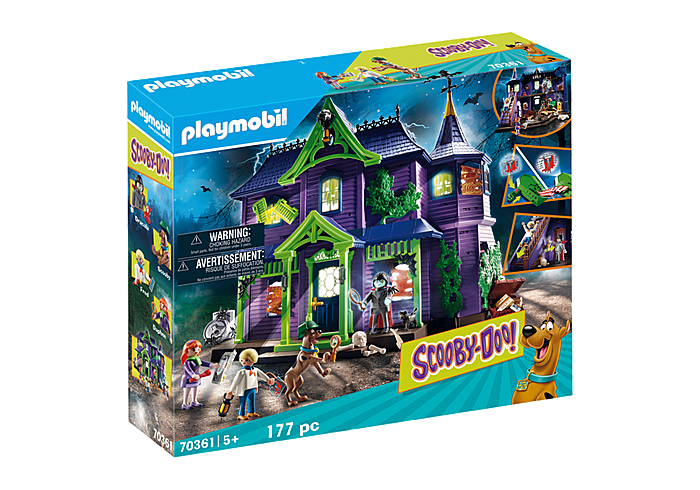 Playmobil 70361 - SCOOBY-DOO! Adventure in the Mystery Mansion - Box