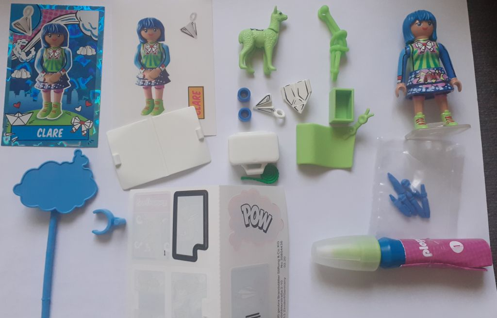 Playmobil 70477 - Clare - Back