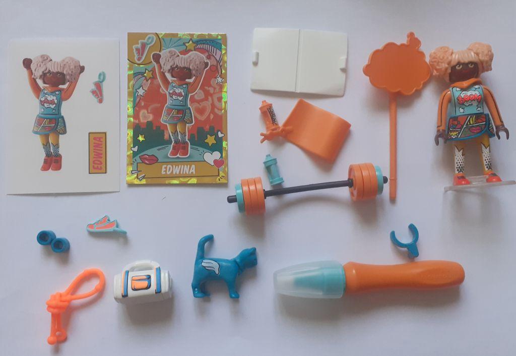 Playmobil 70476 - Edwina - Comic World - Back