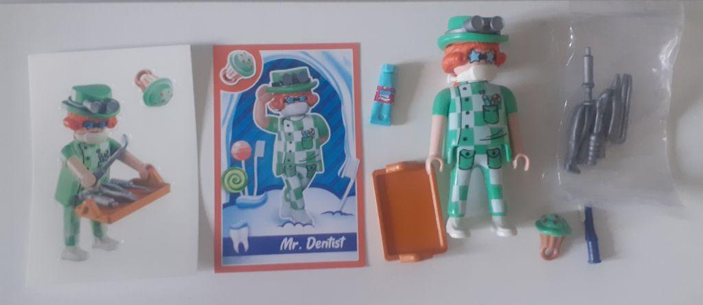 Playmobil 70389V10 - MR. DENTIST - Back