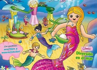 Playmobil - PLAYMOBIL PANNINI 06 ROSA -  beautiful mermaid