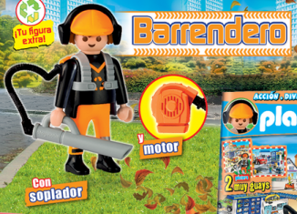 Playmobil - R049-30795164 - Garbage collector