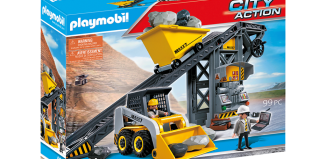 Playmobil - 4041v2 - Conveyor Belt with Mini Excavator
