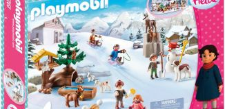 Playmobil - 70261 - Heidi and Winter