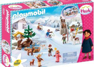 Playmobil - 70261 - Heidi and Winter