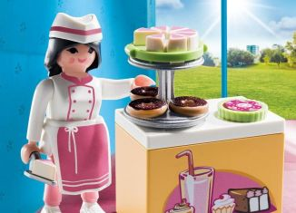 Playmobil - 70419 - Pastry Chef