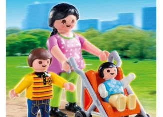Playmobil - 70421 - Mother with babies