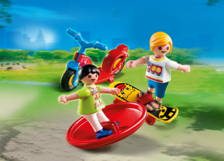 Playmobil - 70422 - Children with toys