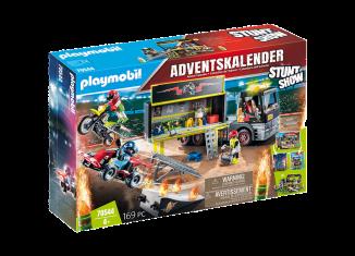 """Playmobil - 70544 - """"Stuntmen"""" XXL Advent calendar"""