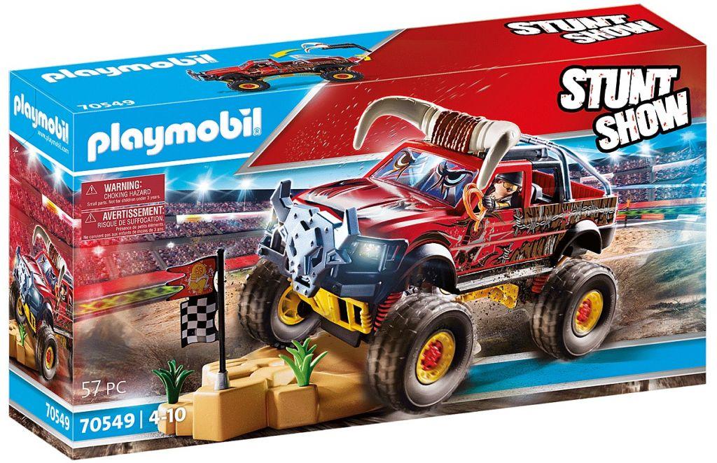 Playmobil 70549 - Stuntshow Monster Truck Horned - Box