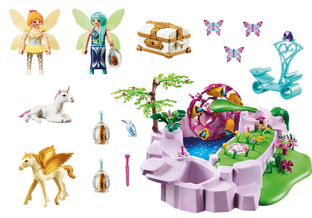 Playmobil 70555 - Magic Lake - Back