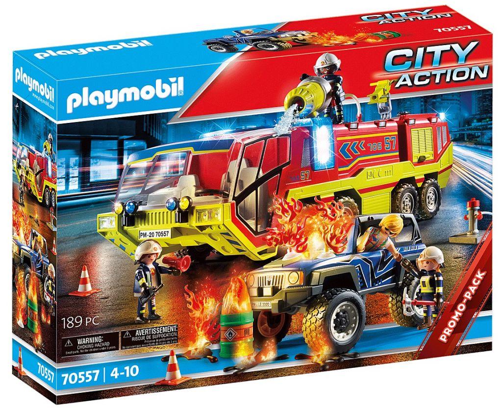 Playmobil 70557 - Fire Truck - Box