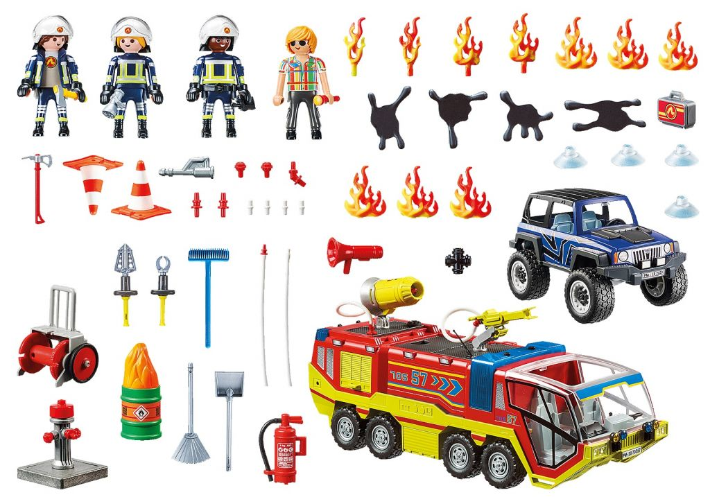 Playmobil 70557 - Fire Truck - Volver